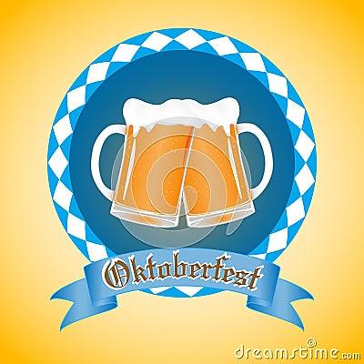 Free Emblem Oktoberfest Beer Festival Stock Image - 127208311