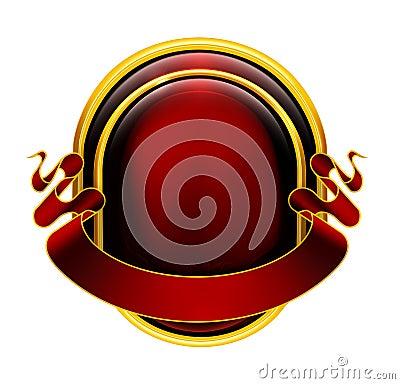 Emblem red