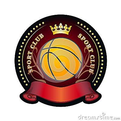 Emblem of sport club