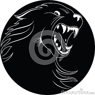 Emblem of wolf