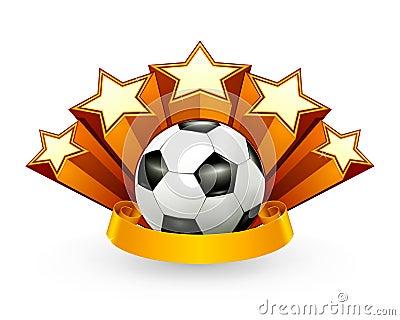 Emblema del fútbol