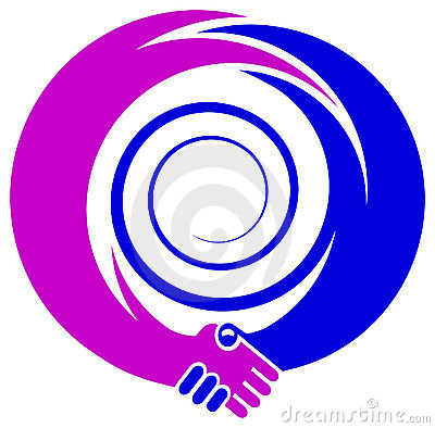 Emblema do aperto de mão