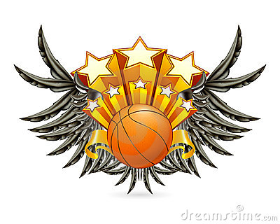 Emblema do basquetebol