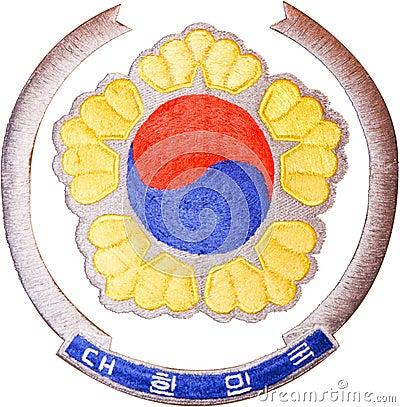 Emblema nacional del Sur Corea