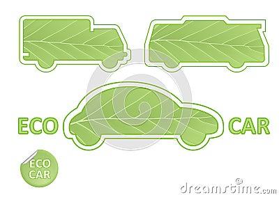 Emblèmes de véhicule d Eco
