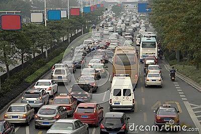 Embouteillage de matin