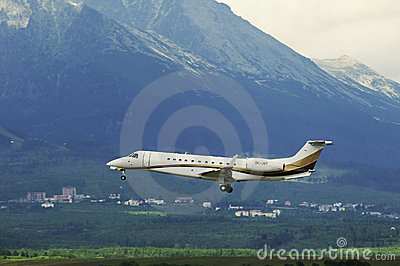 Embraer ERJ 135 BJ Editorial Image