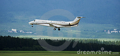 Embraer ERJ 135 BJ Editorial Stock Image