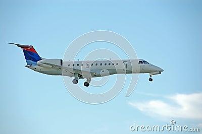 EMbraer ERJ regional jet
