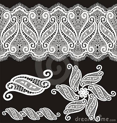 ABC Free-Standing Lace Designs. Lace Embroidery Designs Sets