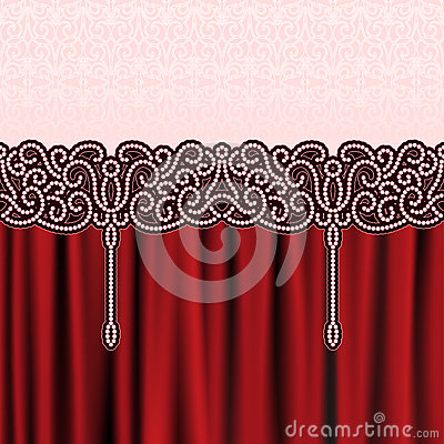 Embroidery background