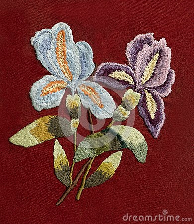 Free Embroidery, Folk Arts And Crafts, Handmade Stock Photos - 119614663