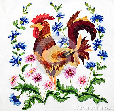Free Embroidery, Folk Arts And Crafts, Handmade Royalty Free Stock Image - 119629556