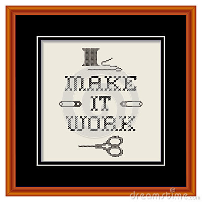 Embroidery, Make It Work Fashion Sewing Frame
