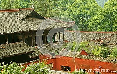 Emeishan, China: Fuhu Monastery