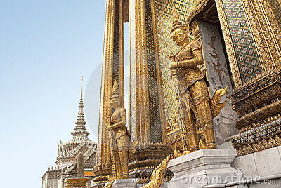 The Emerald Buddha Temple