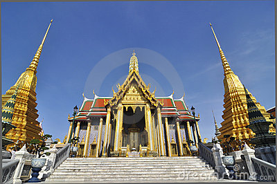 The Emerald Buddha temple, Bangkok