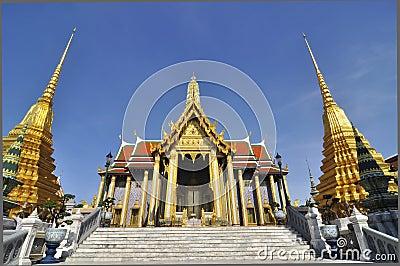 The Emerald Buddha temple, Bangkok
