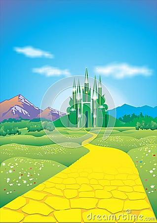 Emerald City Royalty Free Stock Photos Image 30961268
