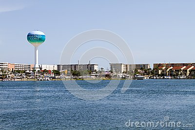 Emerald Coast Editorial Stock Photo