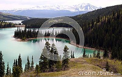 Emerald Lake, Yukon Canada