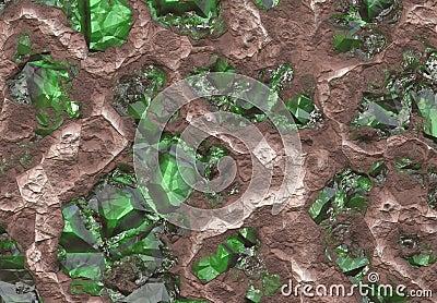Emerald Stone Vein