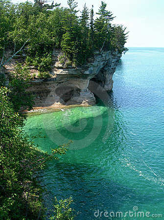 Free Emerald Waters On Lake Superior Stock Photography - 11040442