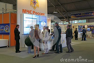 EMERCOM of Russia Editorial Image