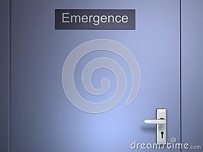 Emergence door