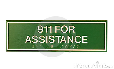 Emergency assistance sign