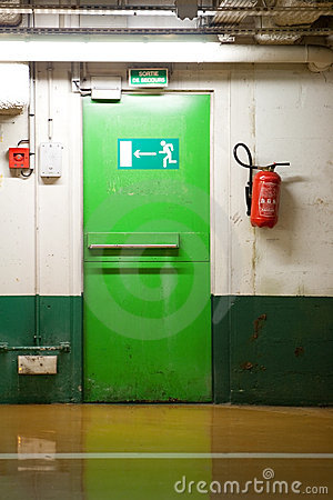 Free Emergency Exit Door Royalty Free Stock Image - 7990506