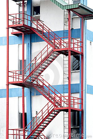 Emergency Exit Stairs Stock Photography Image 15617372