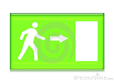 Emergency Exit Symbol