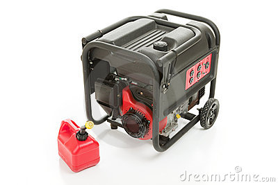 Emergency Generator and Gas Can