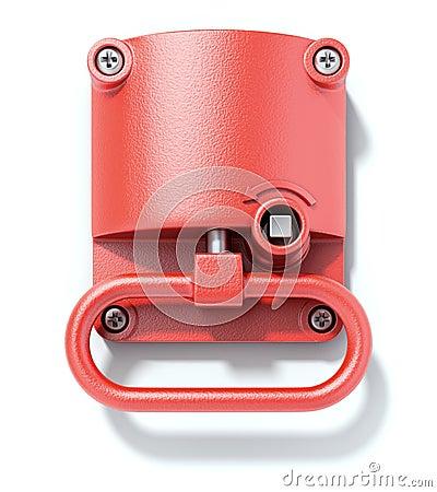 Emergency hand brake