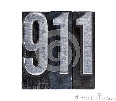 Emergency phone number 911