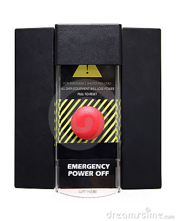 Emergency Power Off or Panic Button - Isolated