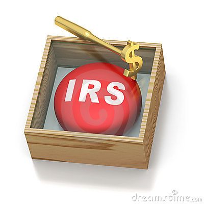Free Emergency Red Pill Reminder For IRS Royalty Free Stock Photo - 18780835