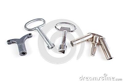 Emergency release keys