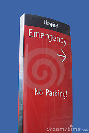 Free Emergency Room Sign Royalty Free Stock Images - 2086599