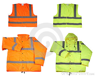 Emergency safety vest and jacket