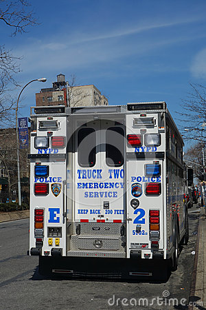 Emergency Service Truck Editorial Image