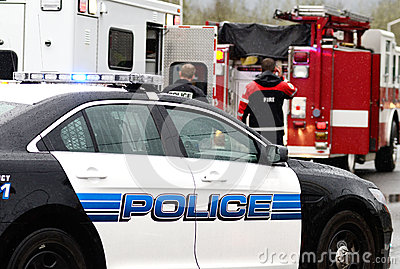 Emergency Work Editorial Photography
