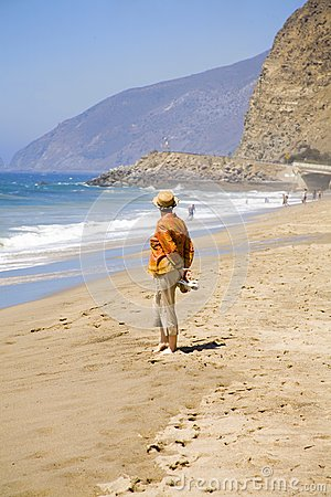 Emerytura na plaży