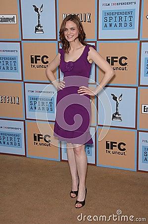Emily Deschanel Editorial Stock Image