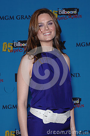 Emily Deschanel Editorial Stock Photo