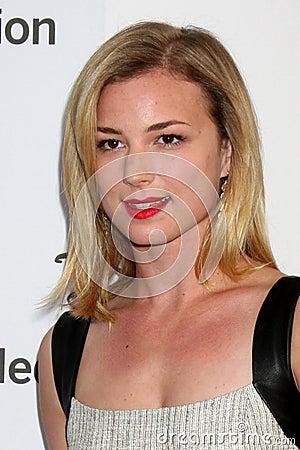 Emily VanCamp arrives at the ABC / Disney International Upfronts Editorial Image