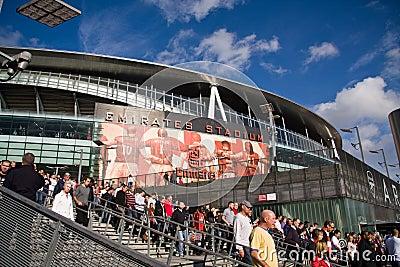 Emirates Stadium Editorial Photo