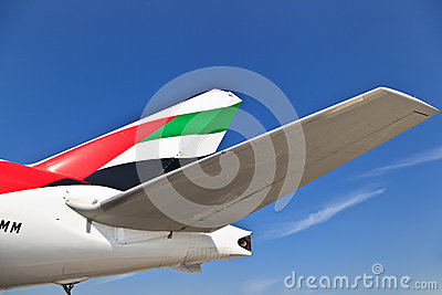 Emirates airbus 330 Editorial Image
