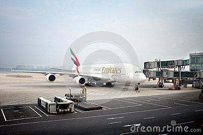 Emirates Airbus A380 Editorial Stock Image